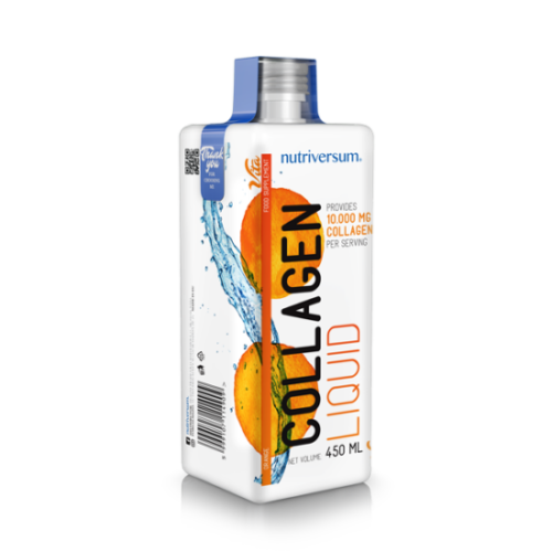 Collagen liquid 10.000 mg - 450 ml - VITA - Nutriversum - narancs