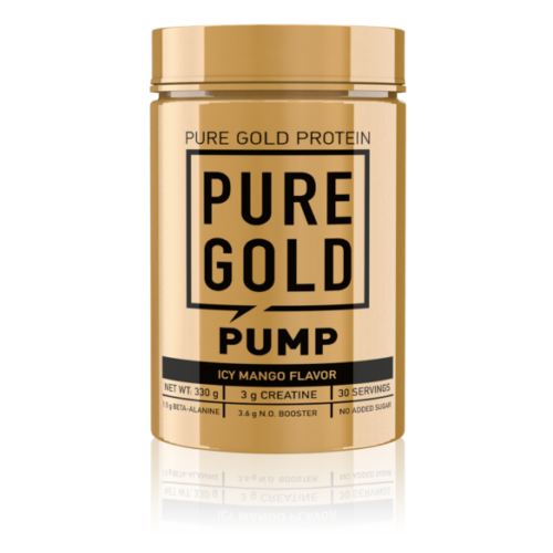 The Pump Pre-Workout stimulánsmentes edzés előtti italpor - Icy Mango 330g