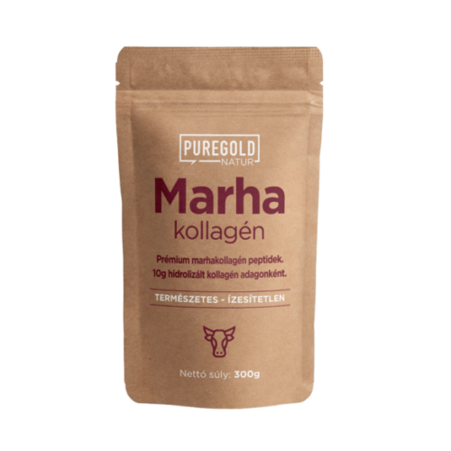PureGold Natur Line Marhakollagén peptidek 300g Ízesítetlen